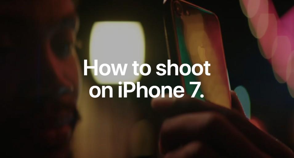 蘋果推出一系列「如何用 iPhone 7 拍照」影片,教你如何拍出好照片
