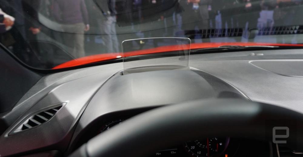 2019 Hyundai Veloster HUD