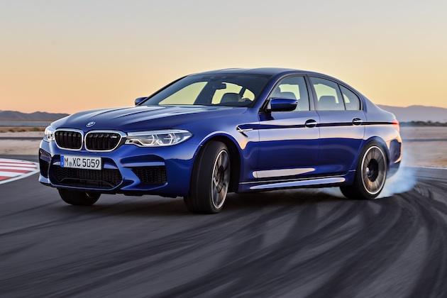 【フォト&ビデオ】BMW、600馬力の新型「M5」を発表! 後輪駆動に切り替え可能な4輪駆動システムを初採用