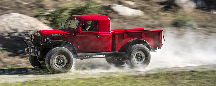 Legacy Classic Power Wagon First Drive Autoblog - Classic trucks