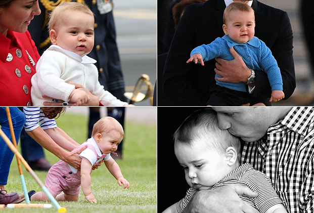 Prince George's most adorable moments