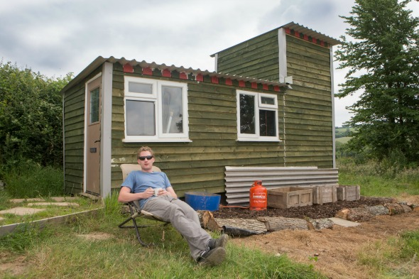 self-build £3,000 home