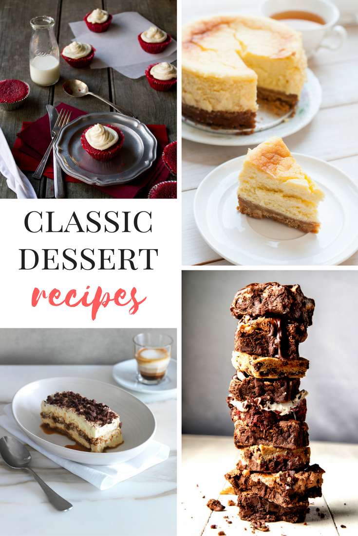 Every Classic Dessert Recipe You Need In Your