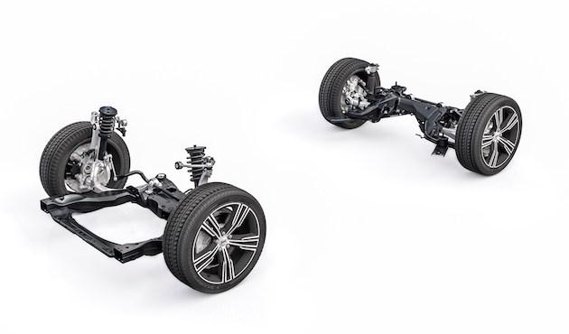 沃尔沃全新V60双链路正面和多链路后悬吊系统