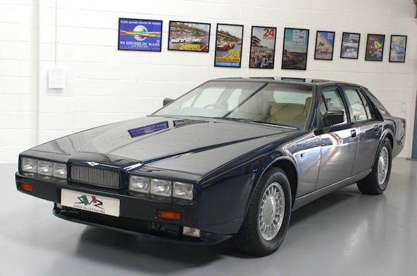 Rare Aston Martin Lagonda Offered For Sale AOL - Old aston martin for sale