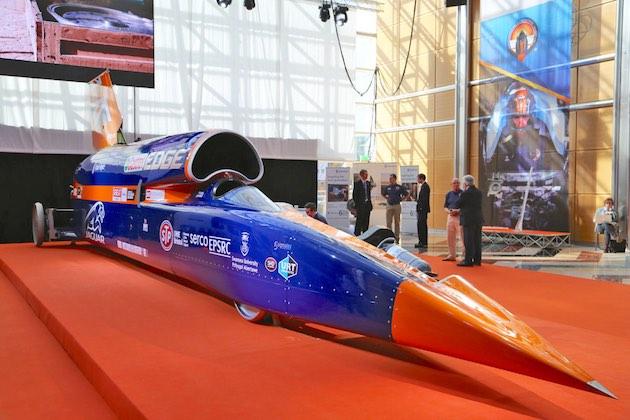 超音速カーBloodhound SSC、ロケット点火の試験走行を2019年5月に延期。資金調達と新技術投入のため
