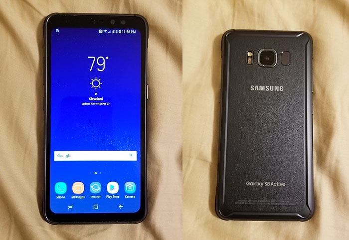 Galaxy S8 Active ditches the curved display in leaked images