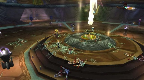 Dead bodies in Shattrath