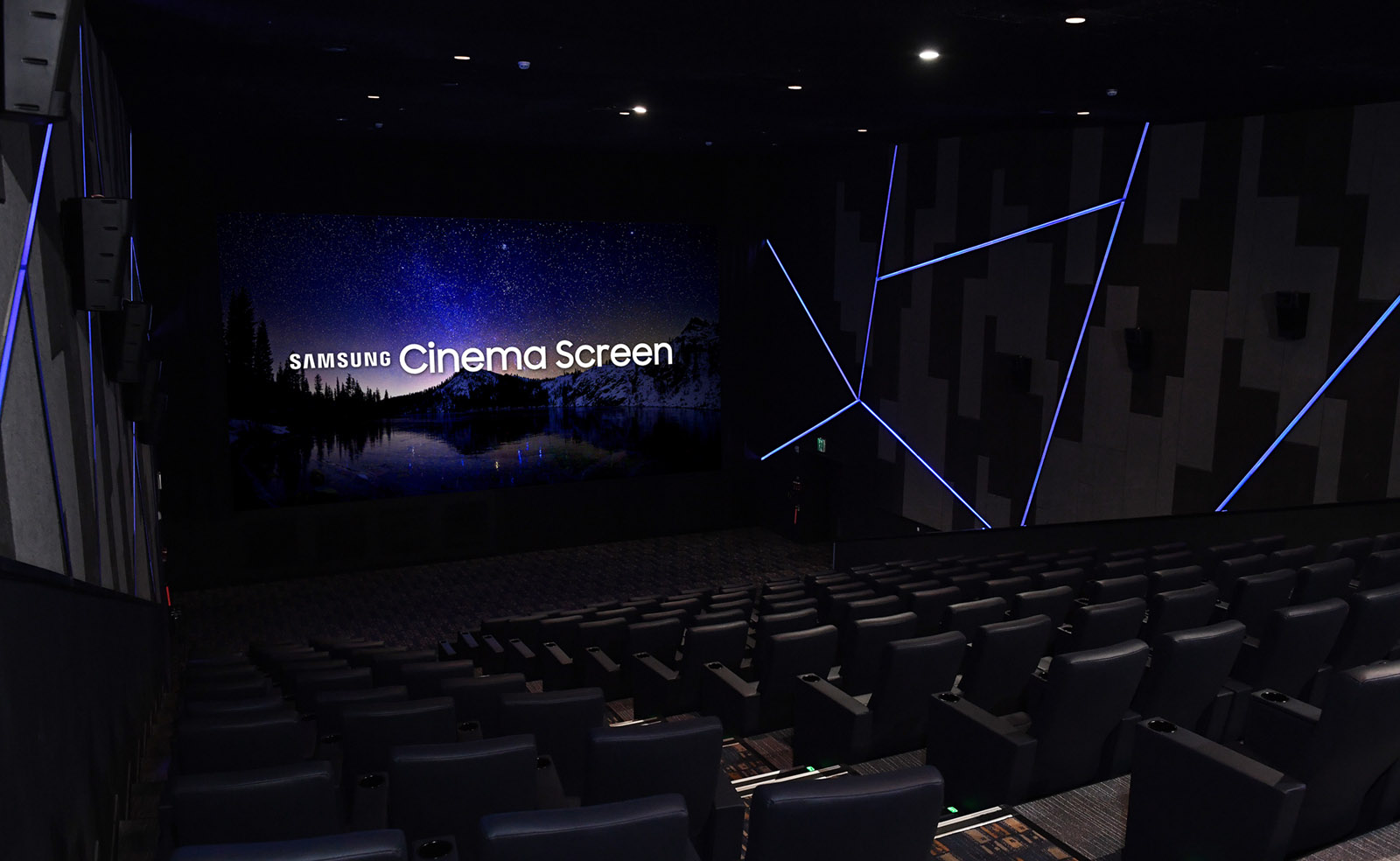 Samsung shows off the world's first LED Cinema Screen