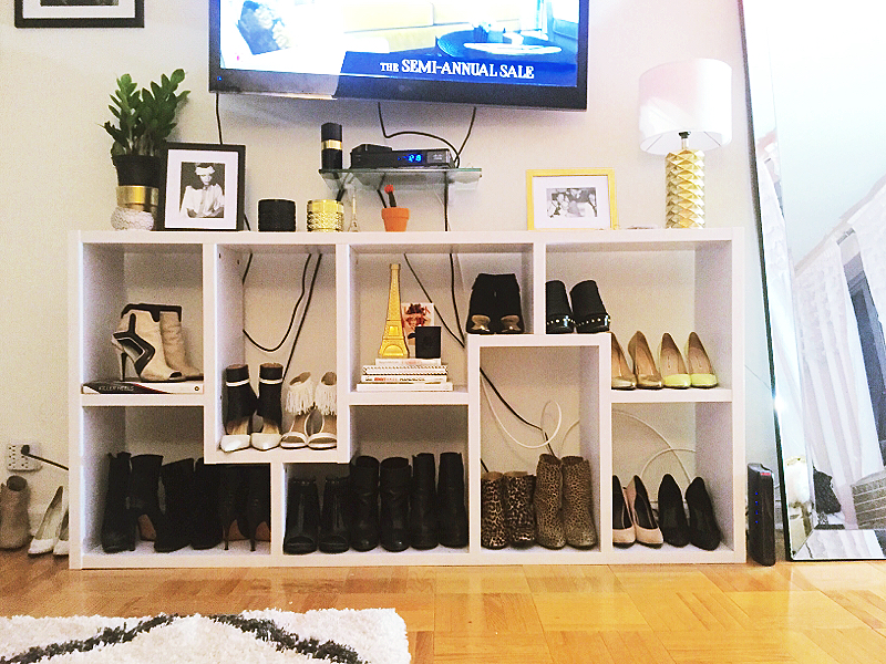 This is how I store 100 pairs of shoes in my NYC apartment - AOL Shop