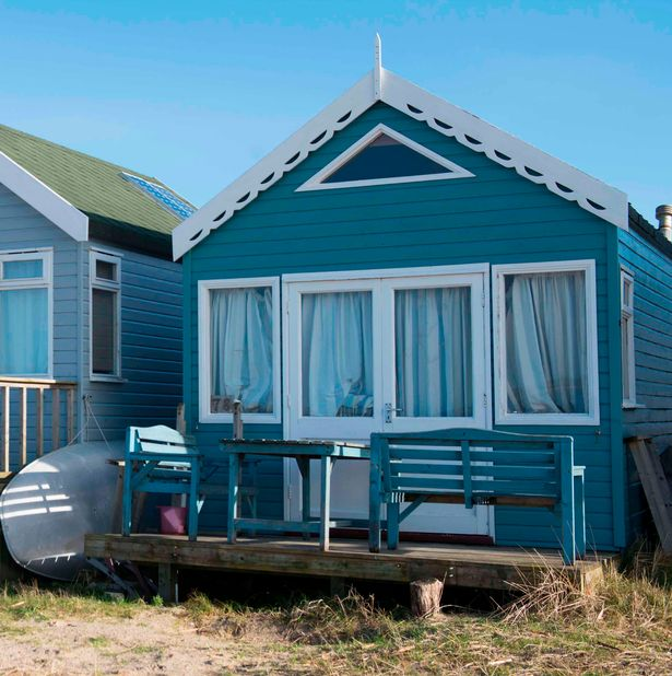 Stunning beach hut on sale for staggering price