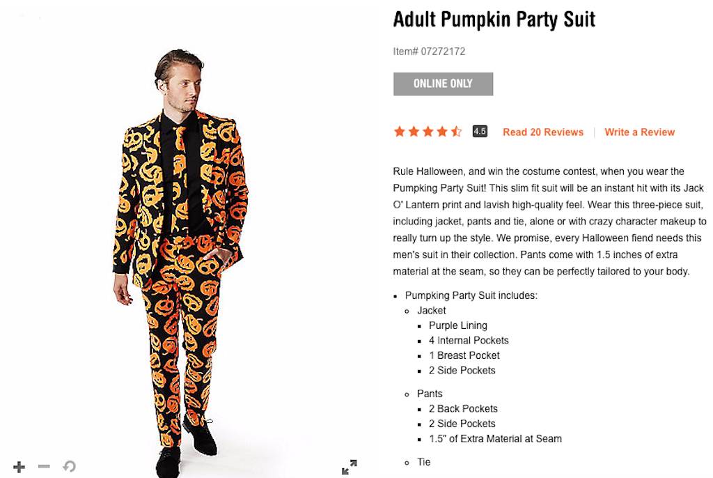 9535099d You can now buy Tom Hanks' David S. Pumpkins suit from 'Saturday ...