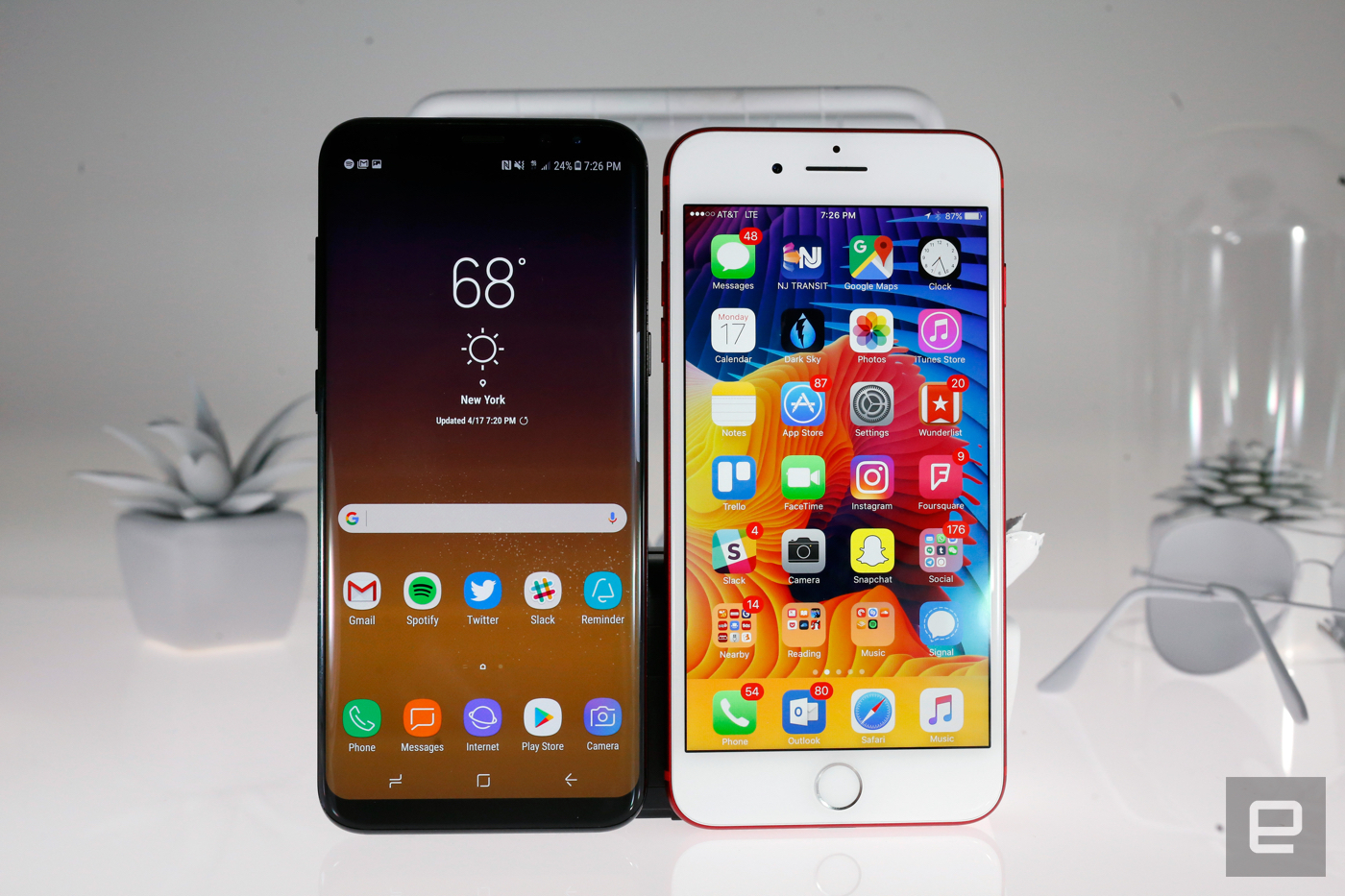 Pubg Wallpaper Samsung S8: Galaxy Note 8とGalaxy S8+、iPhone 7 Plus仕様比較。デュアルカメラは両方光学手ぶれ