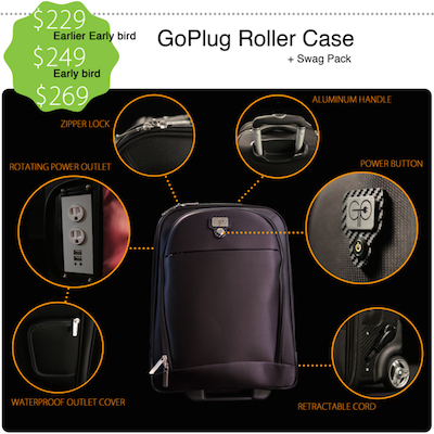GoPlug Roller Bag