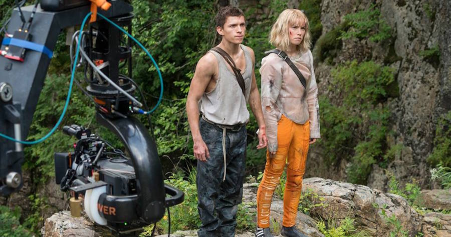 Fandoms Collide in First Photo From 'Chaos Walking'
