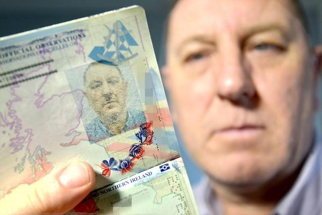 Man left 'looking like Hitler' in passport picture
