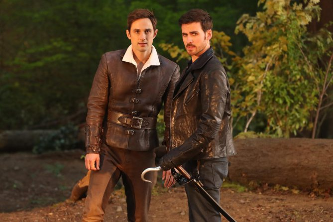 "ONCE UPON A TIME - ""A Pirate's Life"" (ABC/Jack Rowand) ANDREW J. WEST, COLIN O'DONOGHUE"
