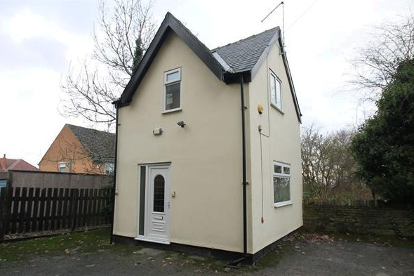 tiny detached house