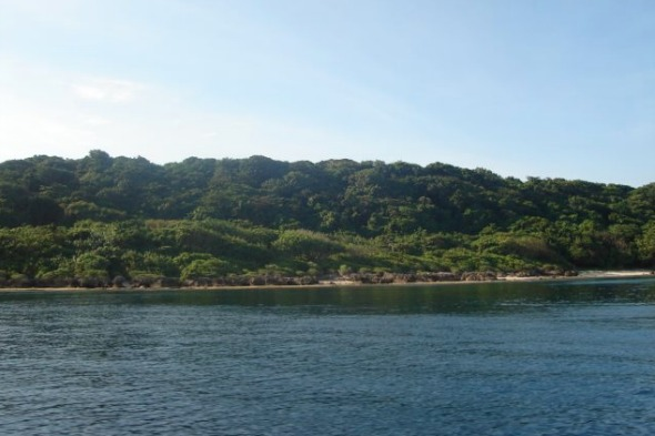 Fuga tropical island