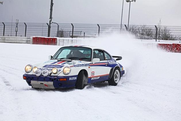 【ビデオ】白銀のニュルブルクリンクをポルシェ「911SC RS」が疾走!