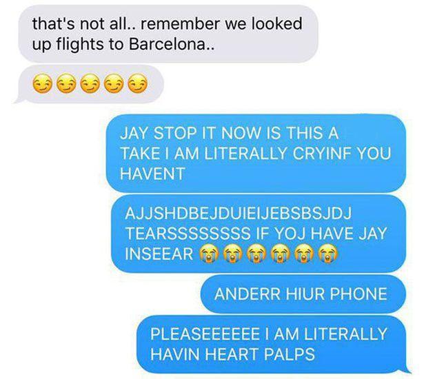 Boyfriend tricks girlfriend in cruel Valentine's prank