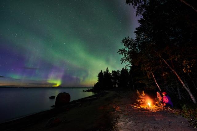 Autumn Northern Lights holiday