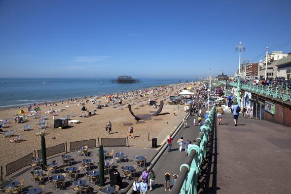 Man's body found on Brighton beach