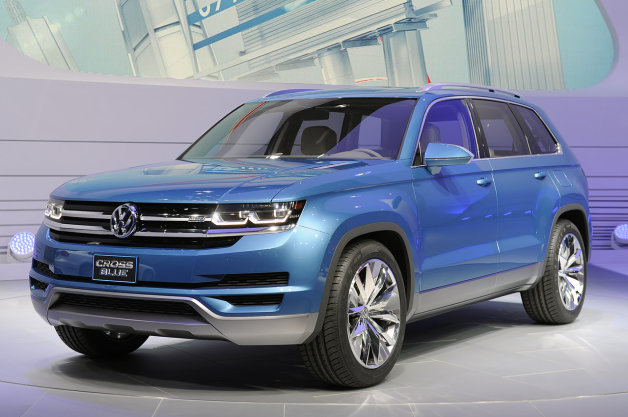 【レポート】VWがクロスオーバー・コンセプトをデトロイトオートショーに出展