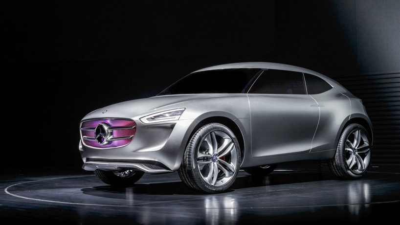 MercedesBenz insane new SUV concept is a giant solar panel