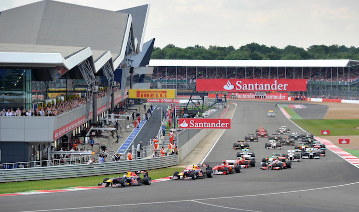 File photo dated 10-07-2011 of Cars round the first corner during the Formula One Santander British Grand Prix at Silverstone Circuit, Northampton.