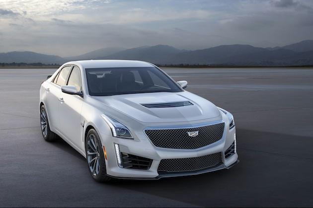 キャデラック、新型「ATS-V」と「CTS-V」にマットなパール・ホワイト塗装を施した特別限定車を発表!