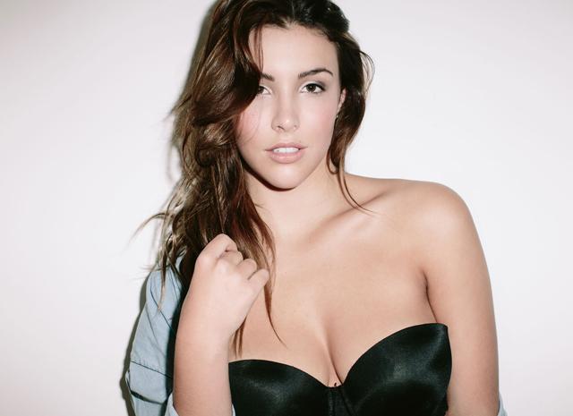 Plus size model Jess Greaves