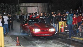 Racing at Yello Belly Drag Strip