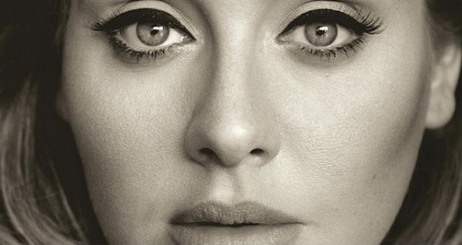 Adele 25 album cover