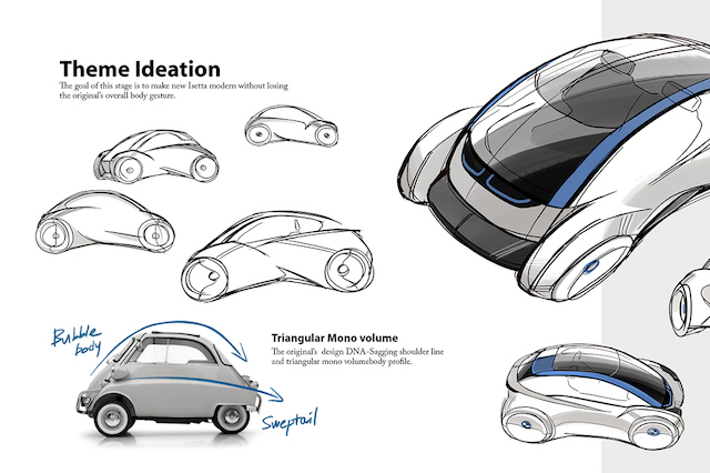 Could this modern day Isetta be the future of motoring? - AOL