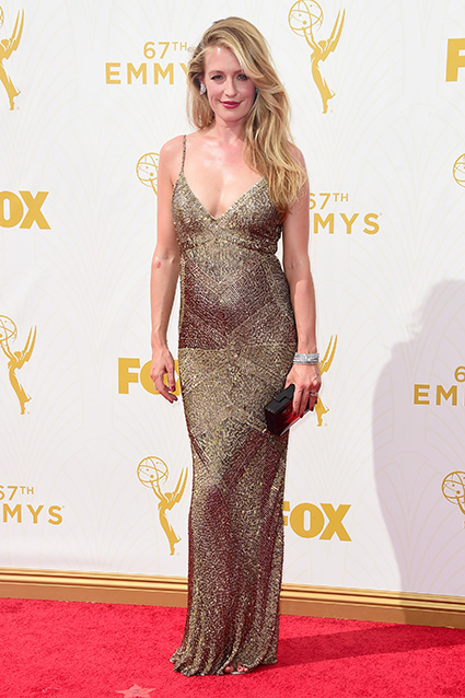 LOS ANGELES, CA - SEPTEMBER 20:  TV personality Cat Deeley attends the 67th Annual Primetime Emmy Awards at Microsoft Theater on September 20, 2015 in Los Angeles, California.  (Photo by Frazer Harrison/Getty Images)
