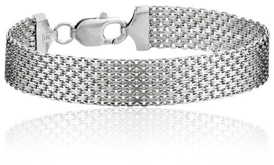 Italian mesh bracelet
