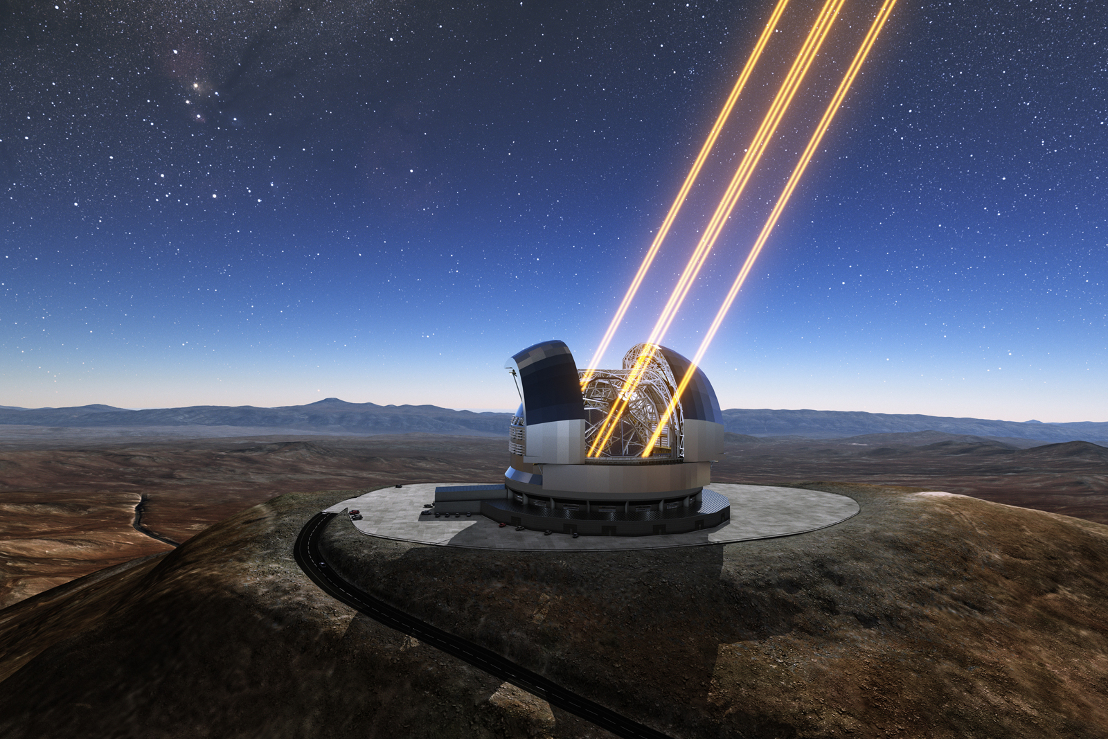 Construction starts on the world's largest optical telescope