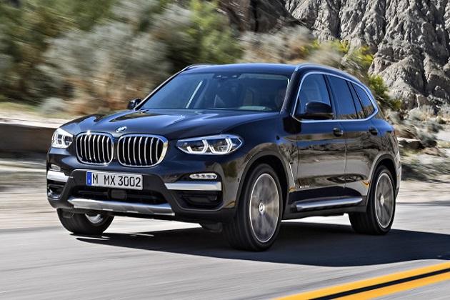 BMWが「iX1」から「iX9」まで一連の商標登録を申請