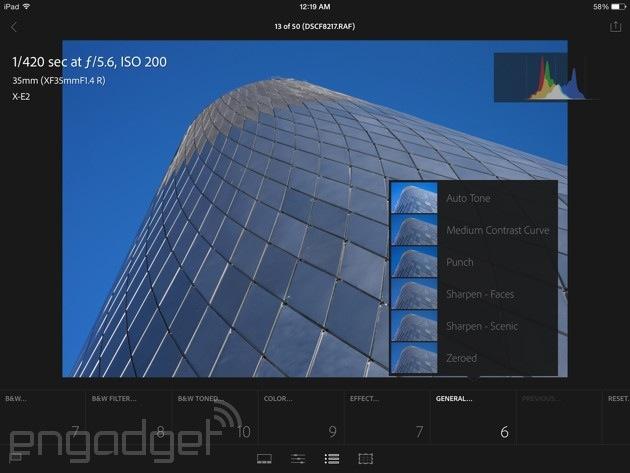 Lightroom mobile review: Adobe brings (most of) its digital darkroom
