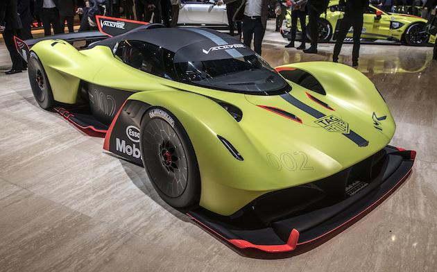 【ジュネーブモーターショー2018】車重1,000kgに1,100馬力以上! アストンマーティンが「ヴァルキリー AMR Pro」を初公開