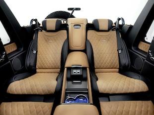 Mercedes-Maybach G 650 Landaulet;*Kraftstoffverbrauch kombiniert: 17,0 l/100 km, CO2-Emissionen kombiniert: 397 g/kmMercedes-Maybach G 650 Landaulet;*Fuel consumption combined: 17.0 l/100 km, CO2 emissions combined: 397 g/km