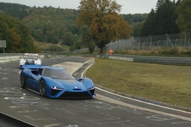【ビデオ】最高出力1メガワットの電動スーパーカーが、ニュルブルクリンクに出現!