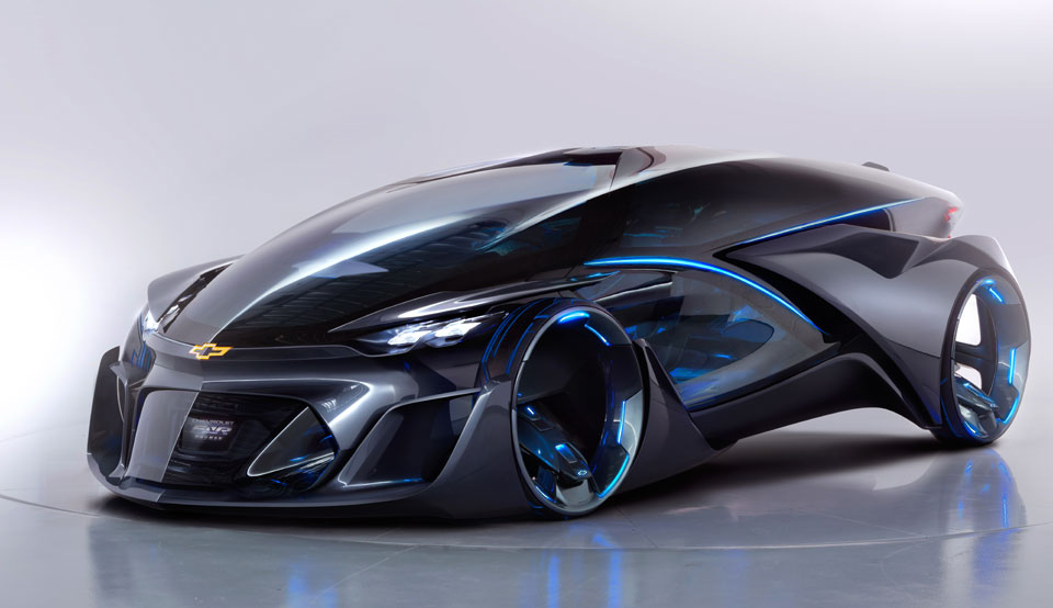 The Picture Chevy S Self Driving Concept Car Is Straight Out Of Sci Fi