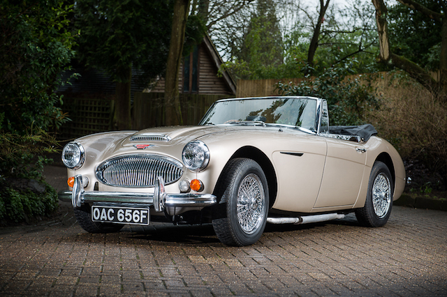 last healey 3000 expected to fetch huge money at auction aol uk cars. Black Bedroom Furniture Sets. Home Design Ideas