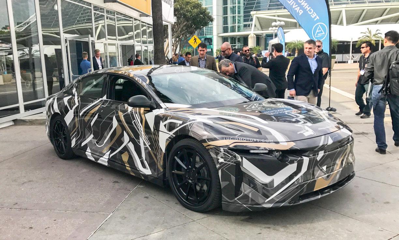 Lucid Motors Super Secret Car Makes An Appearance