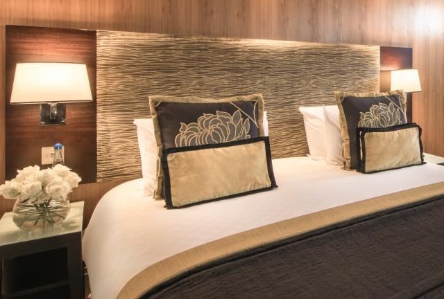 The Cavendish London bedroom