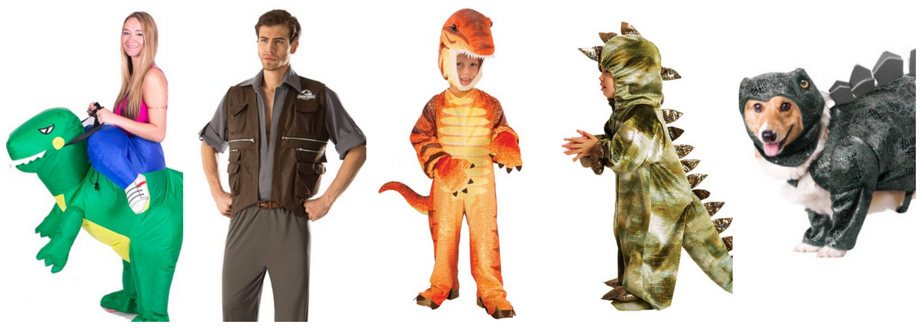 Jurassic World family Halloween costume idea