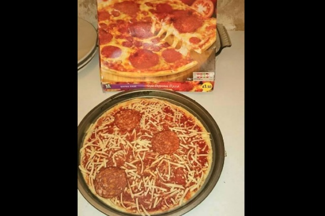 Disappointing pizza