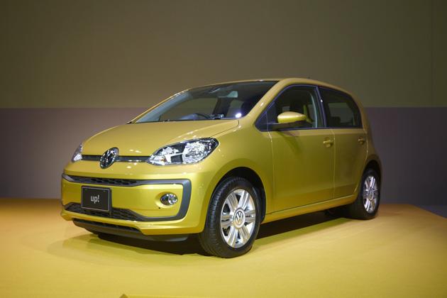 フォルクスワーゲン、デザインが刷新された最小コンパクトカー「up!」を日本で販売開始! コネクティビティと安全性も強化
